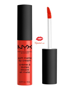 Son kem NYX Soft Matte Lip Cream Morocco